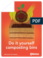 Do It Yourself Composting Bins