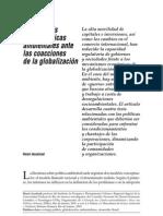 Acselrad - 4 tesis sobre políticas ambientales