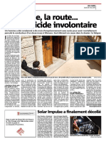 La fatigue, la route, et l'homicide involontaire