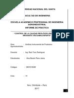 Informe de Viscoamilografía