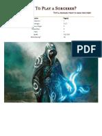 Guru's Sorcerer Guide