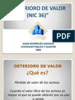 Presentacion n0 7 Deterioro de Valor