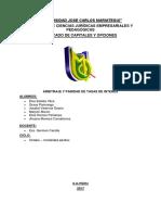 Grupo 6 Arbitraje y Paridad de Tasas de Interés