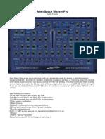 AlienSpaceWeaver Pro Manual
