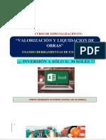Brochure Valorización de Obras