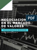 Negociaciones en el mercado de valores