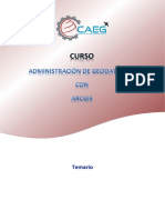Curso de Adm. de Geodatabase Con ArcGIS by GAEG