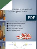 Supradozarea În Tratamentul Cu Anticoagulante Orale
