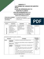 03 - SESIONES DE APRENDIZAJE- 3°