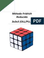 Método Fridich Reducido (3x3)