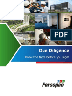Forsspac Due Diligence