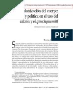 Uso Del Calzon