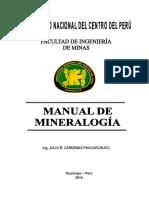 Manual de Mineralogía 2014