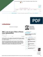 2017-o ano em que a China se firmou como superpotência - 20_12_2017 - Marcos Troyjo - Colunistas - Folha de S