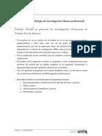 Trabajo 1 Propuesta Rama Profesional Tfm