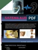Sistema Auditivo Diapositivas