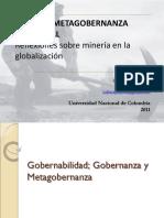 Metagobernanza y Mineria