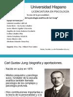 Carl Jung Teoría de La Psicología Analítica