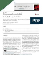 Uterine anomalies, unclassified.pdf