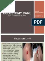 Colostomy Care