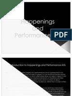 Performance Art(Aaron's Report)