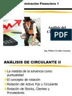 Clase 6 Analisis Circulante II