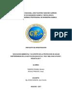 2 Tesis de Trat de Aguas Educacion Ambiental y Su Relacion Con La Conservacion de Aguas Subterraneas