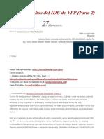 Secretos Ocultos Del IDE de VFP