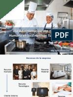 7. Administración Del Talento Humano en Empresas Turísticas