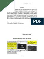Toyota 2004 Avalon From Aug. 2004 Prod. Navigation Owner's Manual (OM41413U)