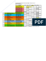 Horario 2014 II Plan Antiguo Final