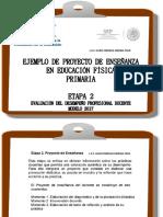 Proyecto de Enseanza Primaria EDUCACION FISICA