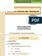 1. Costos & Gastos Proyectos Privados Okey