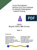 Modul EW20 Year 4