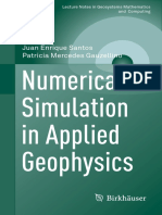 Numerical Simulation in Applied Geophysics 3319484567