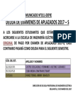 Comunicado N_11 Traer Recibo Original 2017-s