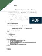 Lesson Plan in Applied Economics