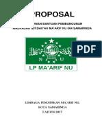 Proposal Maarif
