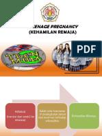 kehamilan remaja