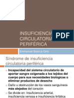 sndrome de insuficiencia circulatoria periferica