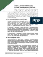 FAQ_SEBI Investment Advisers Regulations 2013
