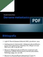 Derrame metastasico