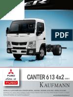 Canter 613 4x2e