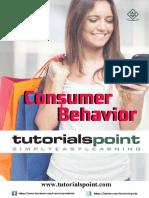 Consumer Behavior Tutorial
