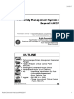 Food Safety Management System Beyon HACCP