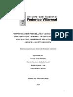 Coprocesamiento de Llantas Usadas en La Planta Industrial de La Empresa Cementera Yura