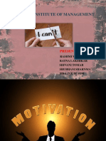 Ltm Ppt on Motivational Theories