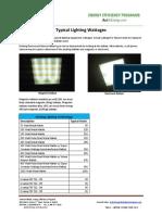 Lighting Wattage Guide
