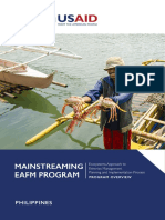 EAFM Program Overview for the Visayan Sea