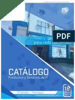 Catalogo STB 2016